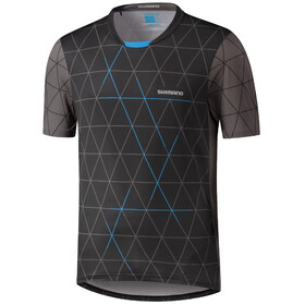 Shimano Myoko SS Jersey Men, black/grey/blue